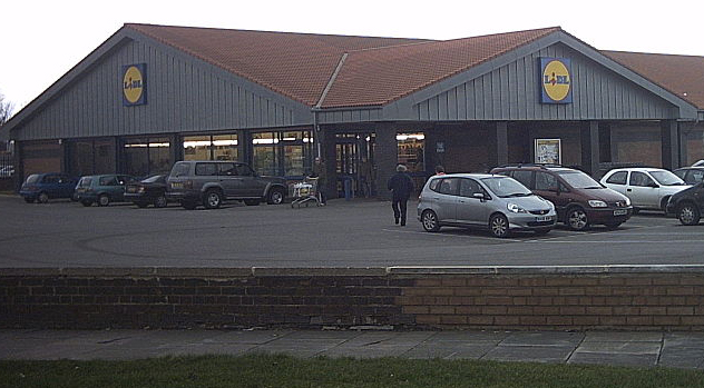 A Lidl supermarket in Middlesborough